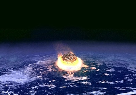 K/T Extinction Event may have been caused by an asteroid impact